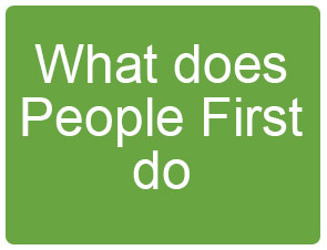 what does people first do